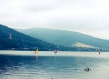 Widok na jezioro Międzybrodzkie