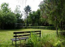 Góralówka ogród - boisko do badmintona