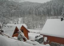 Krajobraz zimą